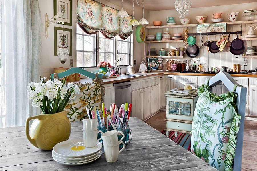 Варианты интерьера кухни: оформление в стиле рустик