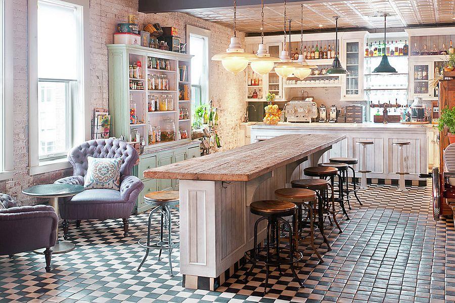 Уютный вариант интерьера кухни - Фото 1