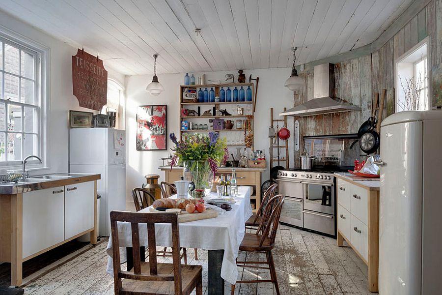 Уютный вариант интерьера кухни - Фото 2
