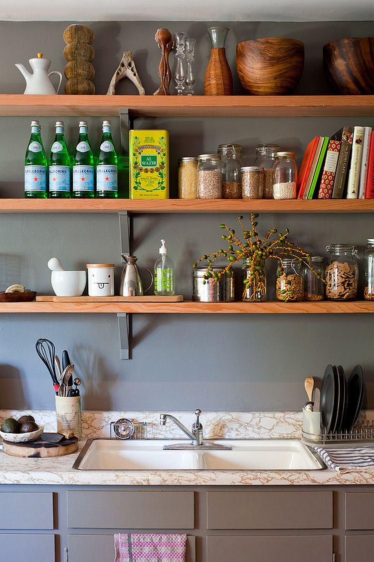 Уютный вариант интерьера кухни - Фото 7