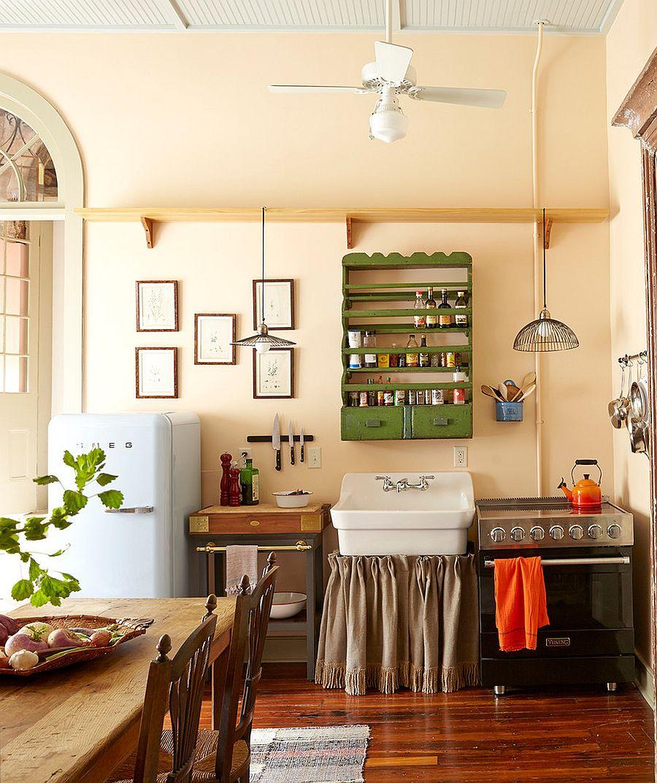 Уютный вариант интерьера кухни - Фото 10