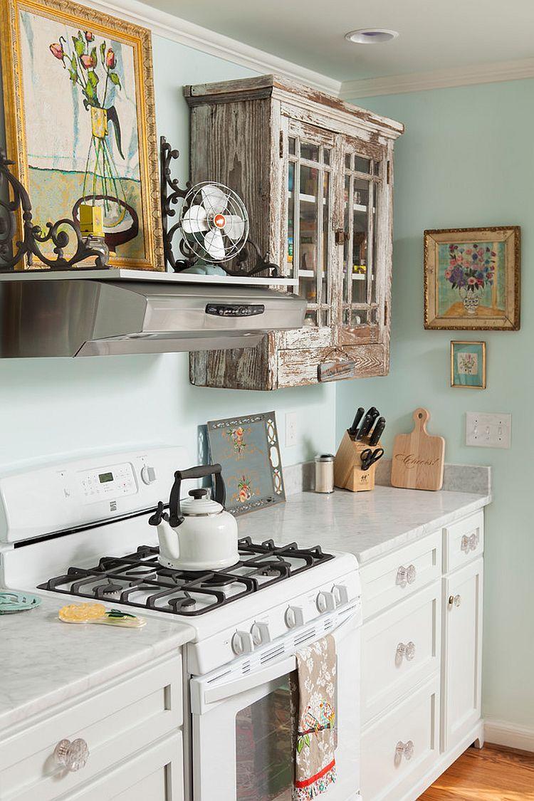Уютный вариант интерьера кухни - Фото 11