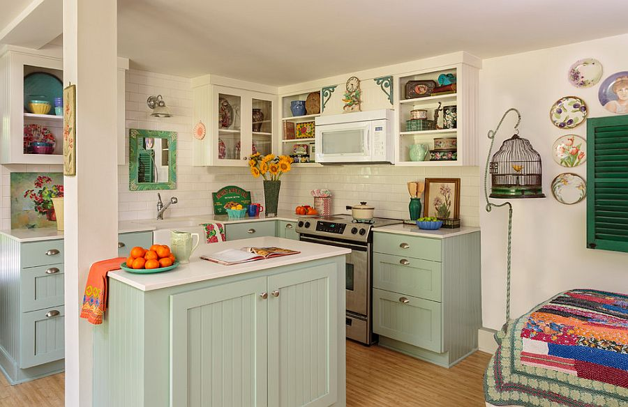 Уютный вариант интерьера кухни - Фото 14