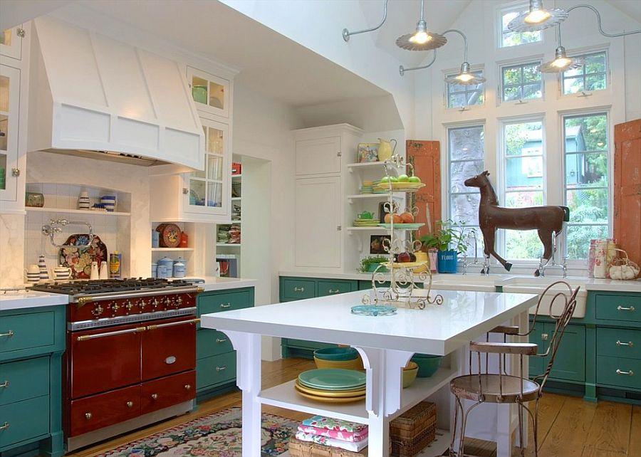 Уютный вариант интерьера кухни - Фото 34