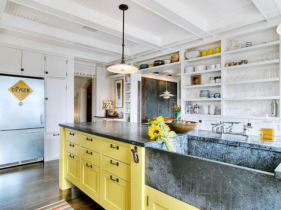 Уютный вариант интерьера кухни - Фото 36