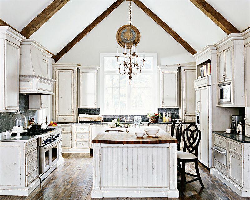 Уютный вариант интерьера кухни - Фото 16