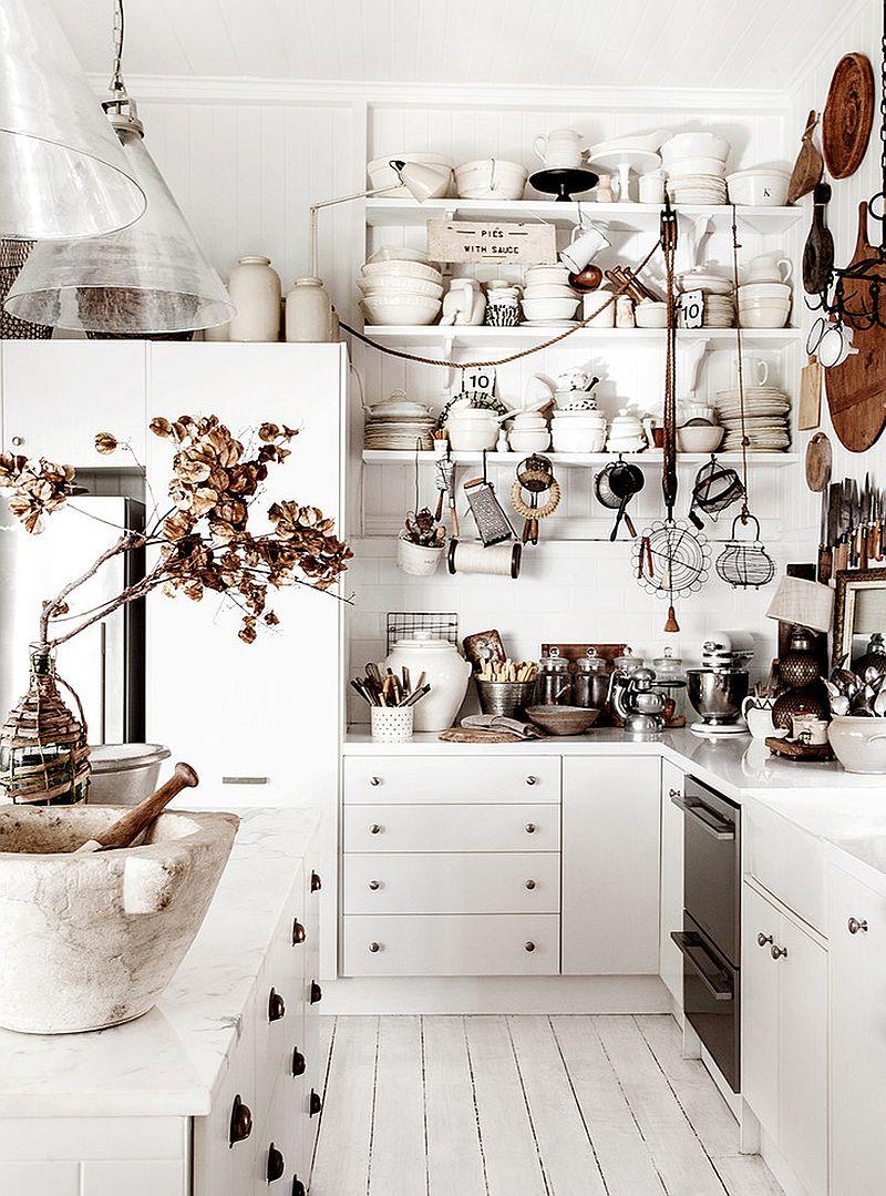 Уютный вариант интерьера кухни - Фото 17