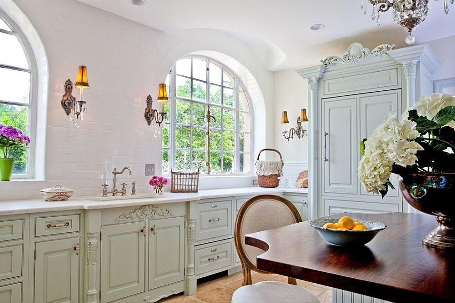 Уютный вариант интерьера кухни - Фото 40