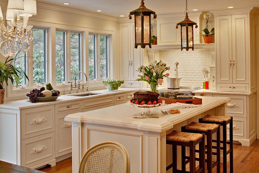 Уютный вариант интерьера кухни - Фото 43
