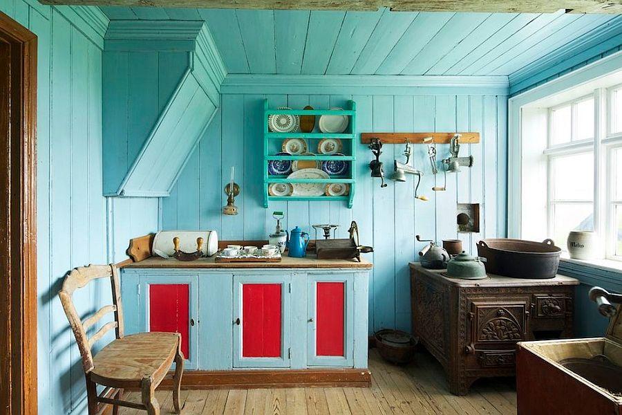 Уютный вариант интерьера кухни - Фото 44