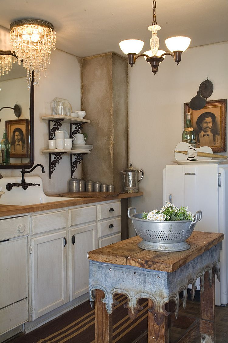Уютный вариант интерьера кухни - Фото 46