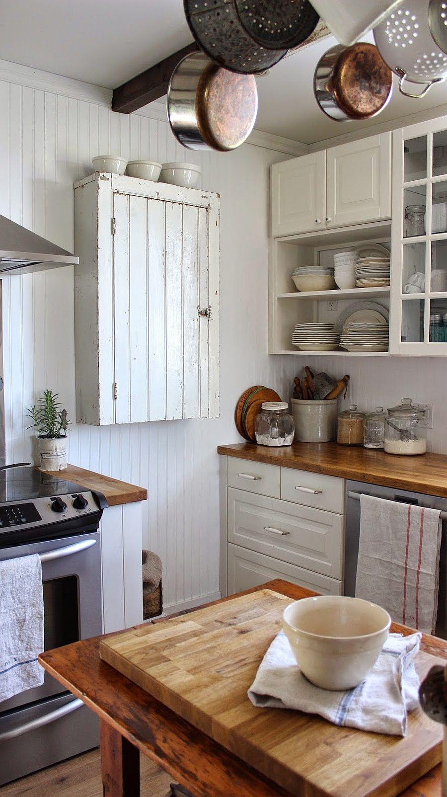 Уютный вариант интерьера кухни - Фото 48