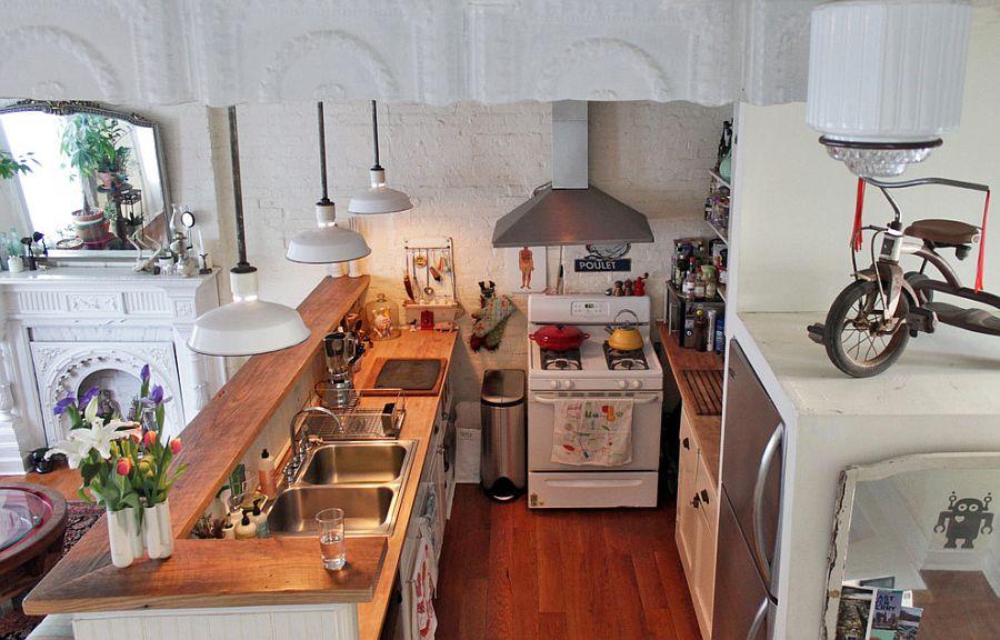 Уютный вариант интерьера кухни - Фото 49