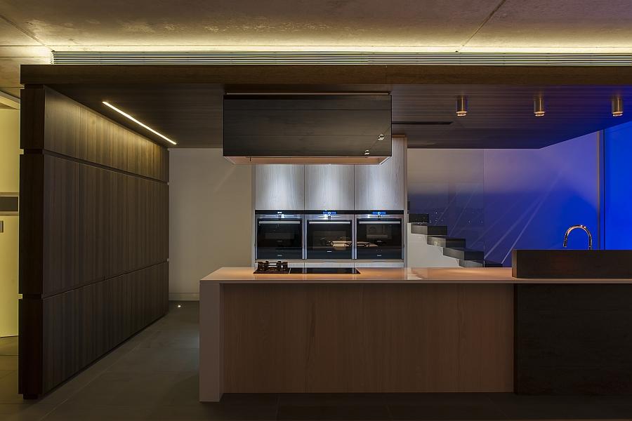 Дизайн кухни в стиле минимализм от студии <em>Minosa</em>