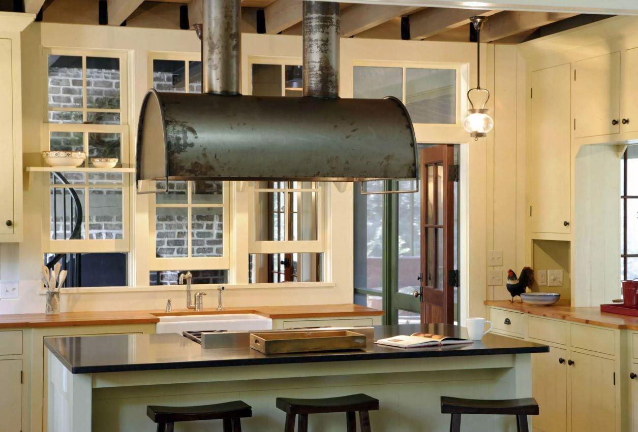 Виды кухонных вытяжек: разнятся по принципу работы