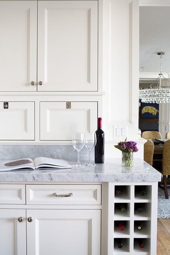 Винные шкафы для кухни - фото Martha O'Hara Interiors
