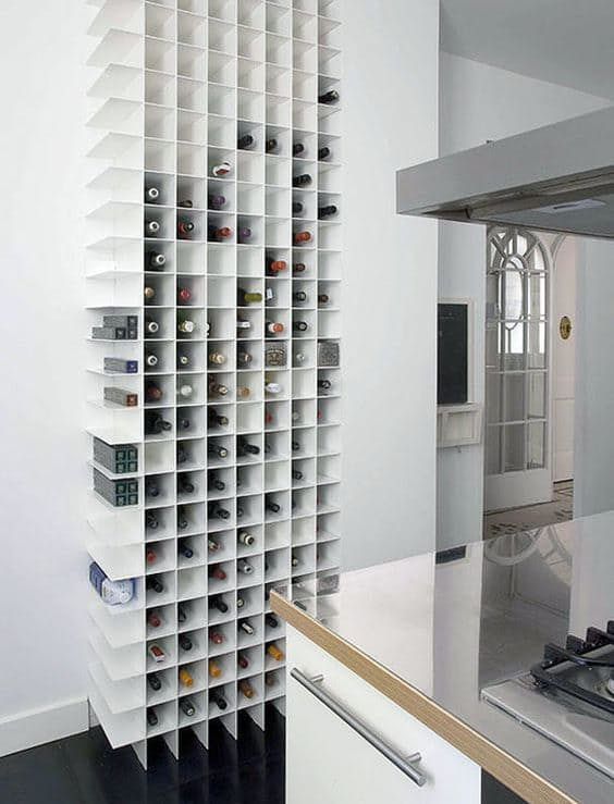 Винные шкафы для кухни - фото Trendland