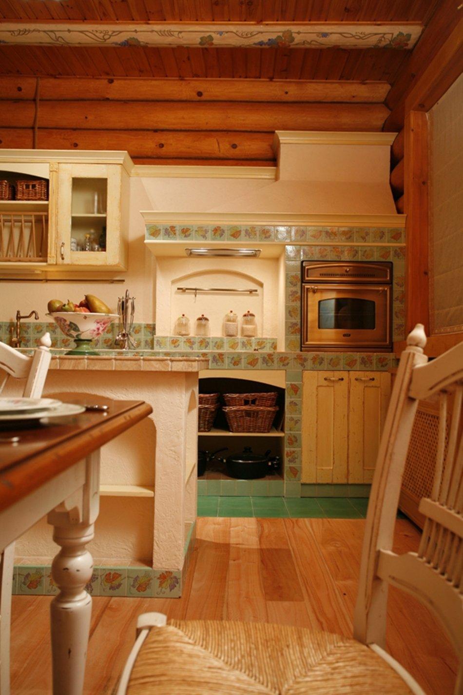 Идеи для кухни с печкой фото