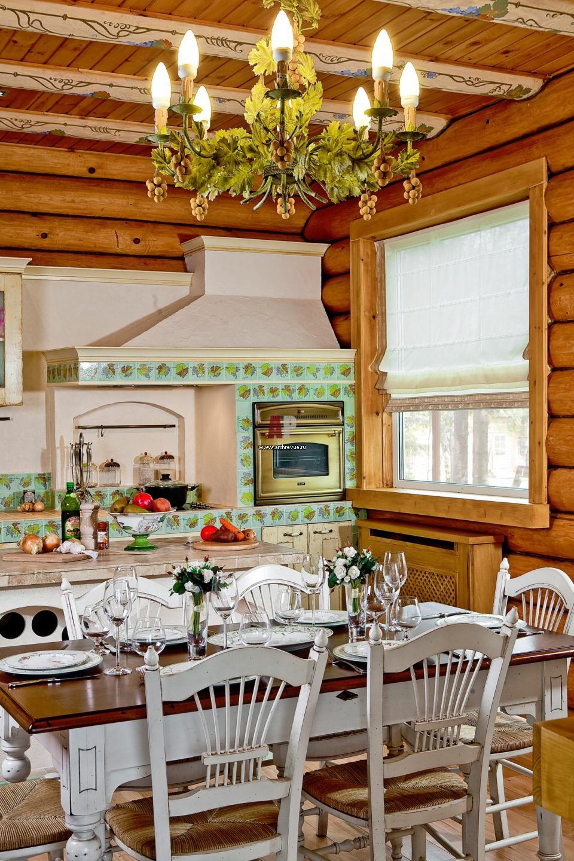 Потрясающая кухня в стиле прованс от Светланы Панариной