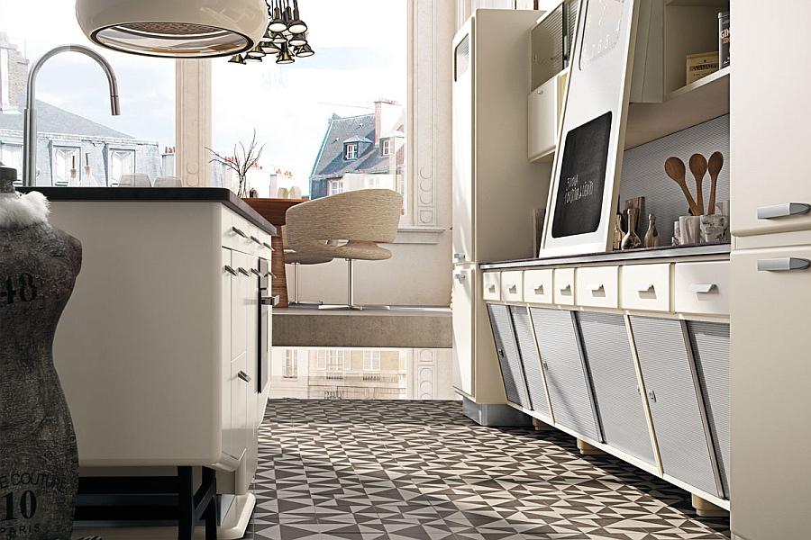 Потрясающий дизайн винтажной кухни Saint Louis от Marchi