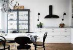 Скандинавский стиль в интерьере современной кухни