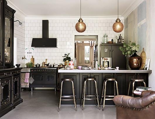 Скандинавский стиль в интерьере кухни: сочетание старого и нового