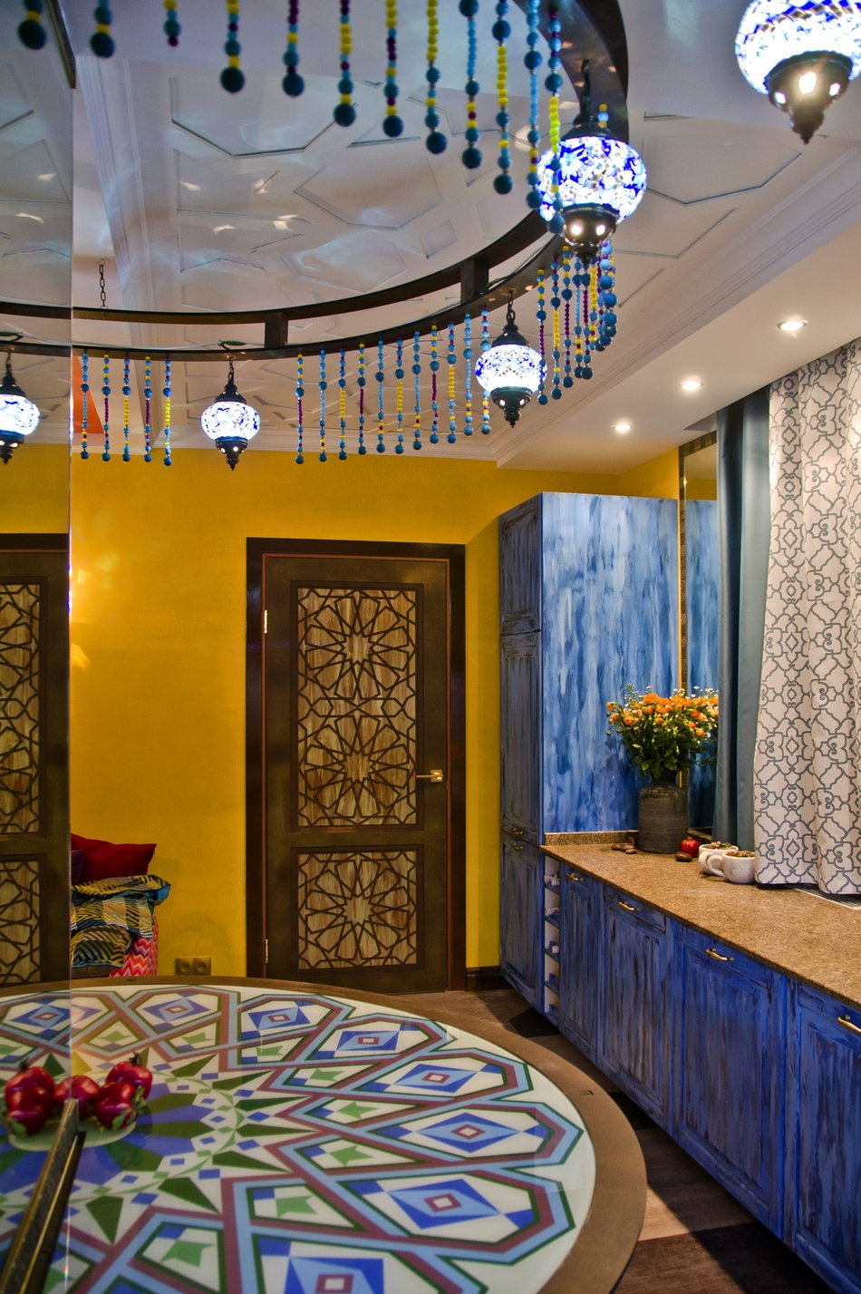 Мавританский стиль в интерьере кухни фото