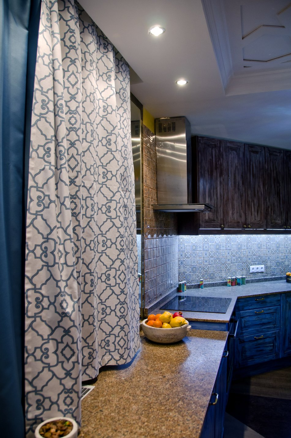 Элементы декора на кухне в восточном стиле