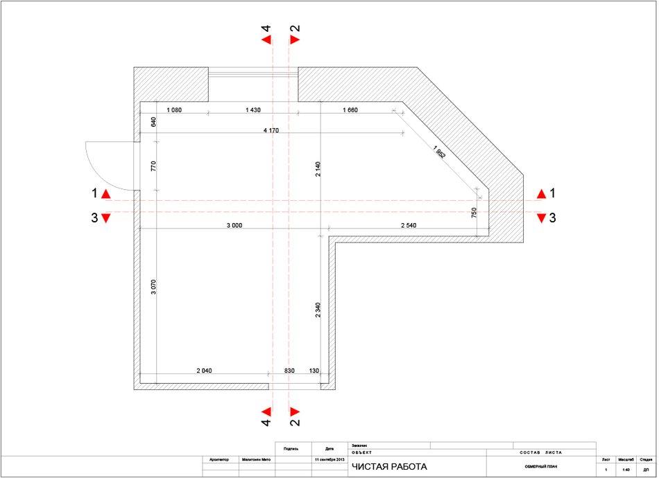 План кухни в восточном стиле