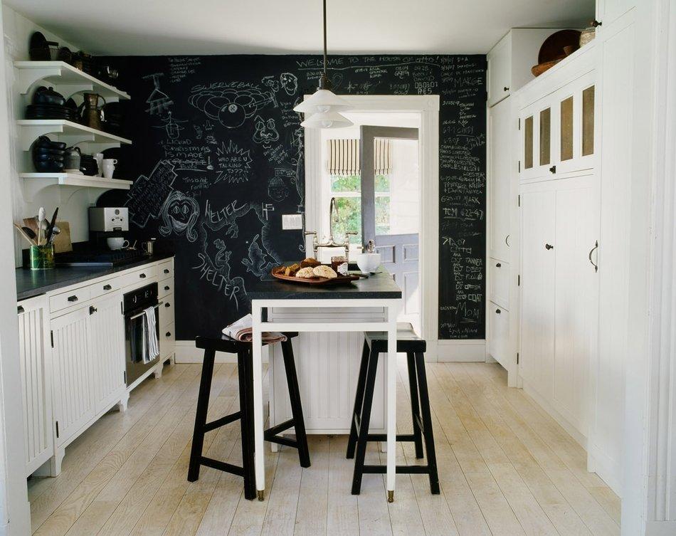 Встроенная техника в интерьере кухни-лофт