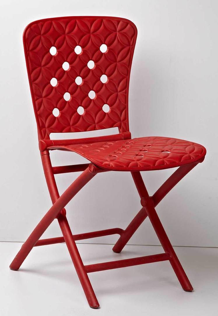 Cкладные стулья для кухни пластиковые со спинкой