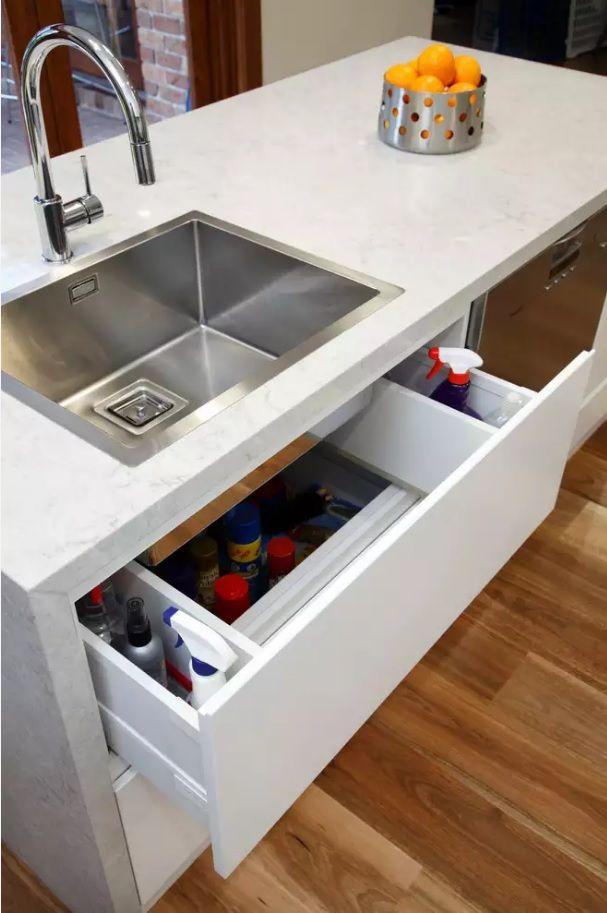 Выбор встроенной раковины для кухни