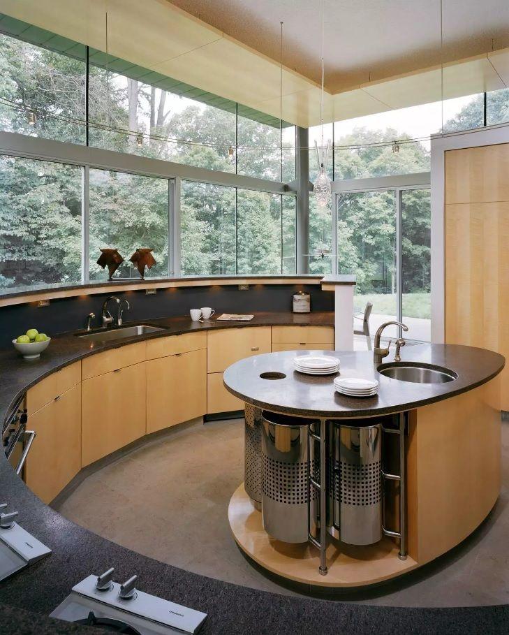 Выбор круглой раковины для кухни