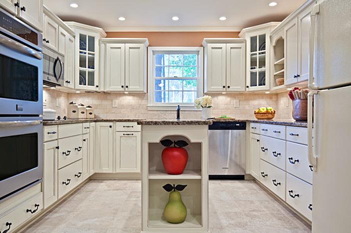 Дизайнерский пример кухонного гарнитура