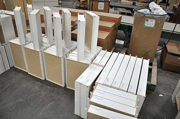 Готовые выдвижные ящики для кухонного гарнитура