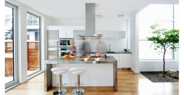 Потрясающий дизайн интерьера кухни-столовой от Line Box Studio