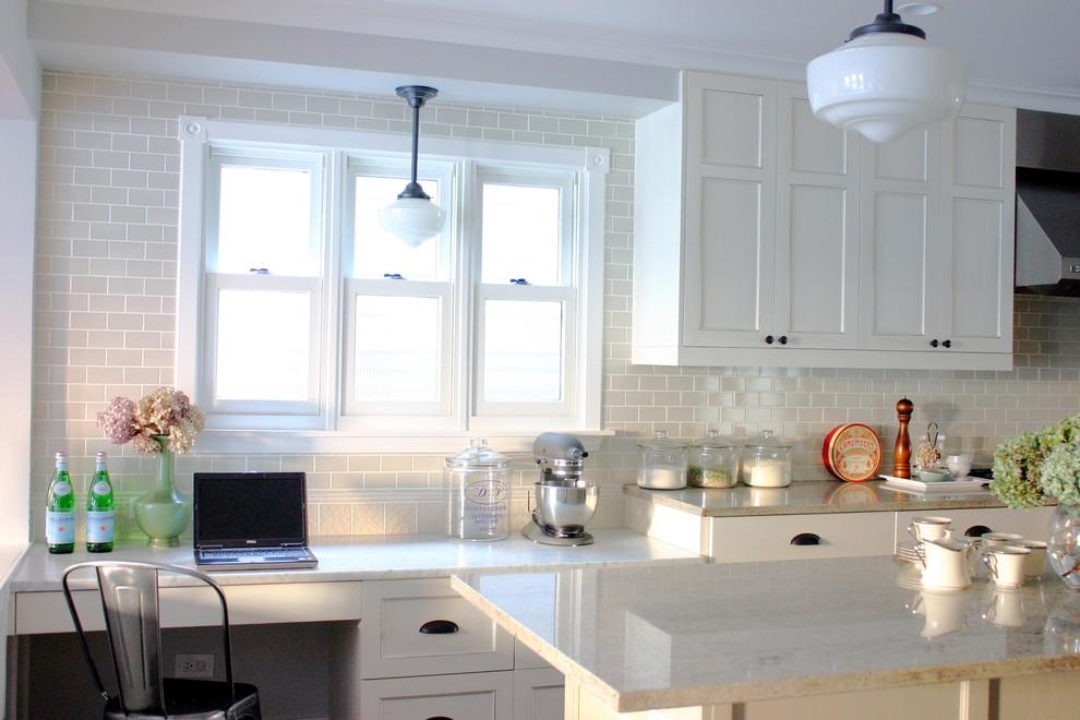 Потрясающий дизайн интерьера кухни в белой гамме от Rebekah Zaveloff   KitchenLab