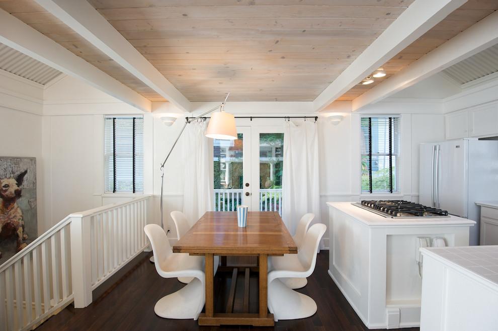 Потрясающий дизайн интерьера кухни в белой гамме от Ed Ritger Photography