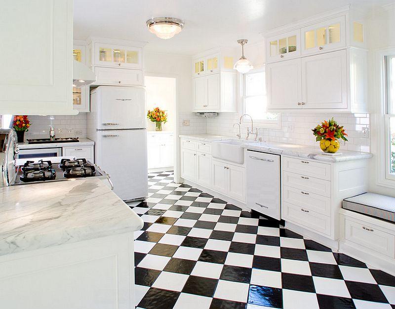 Дизайн кухни пола кухни