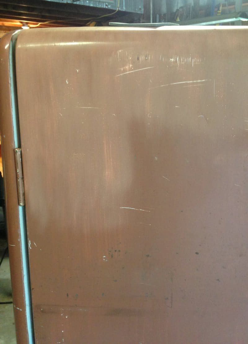 Яркий холодильник. Впереди ещё много труда