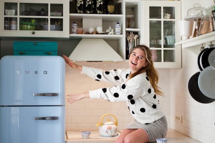 Яркие холодильники в стиле ретро
