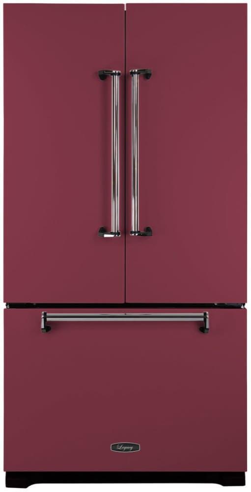 Большой яркий холодильник