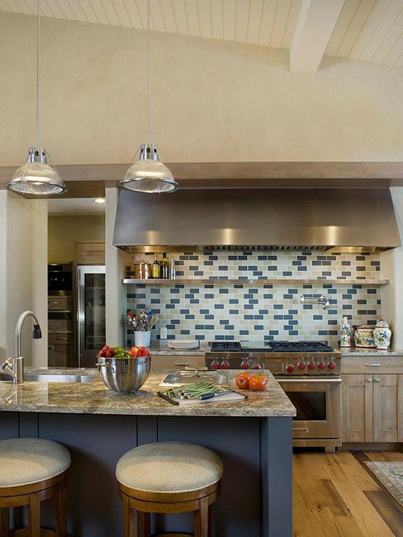 Яркие цвета в интерьере кухни - Фото 4