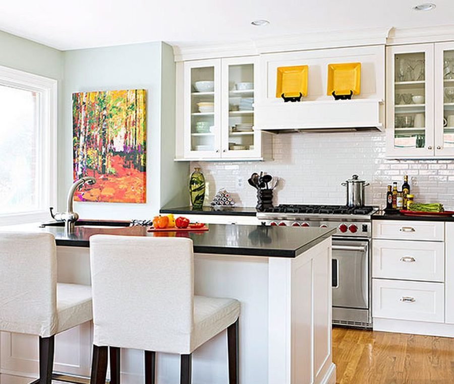 Яркие цвета в интерьере кухни - Фото 7