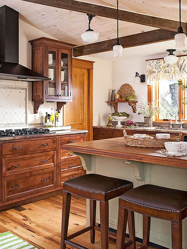 Яркие цвета в интерьере кухни - Фото 8