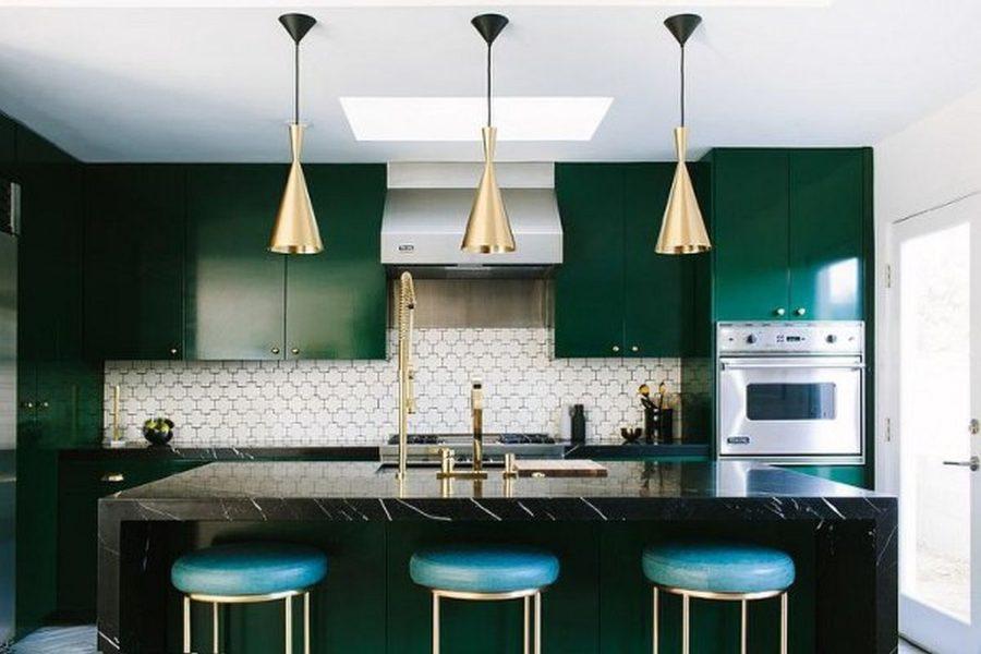 Яркие цвета в интерьере кухни - Фото 10