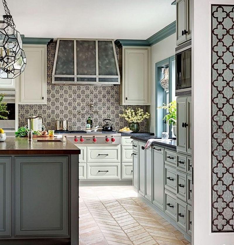 Яркие цвета в интерьере кухни - Фото 15