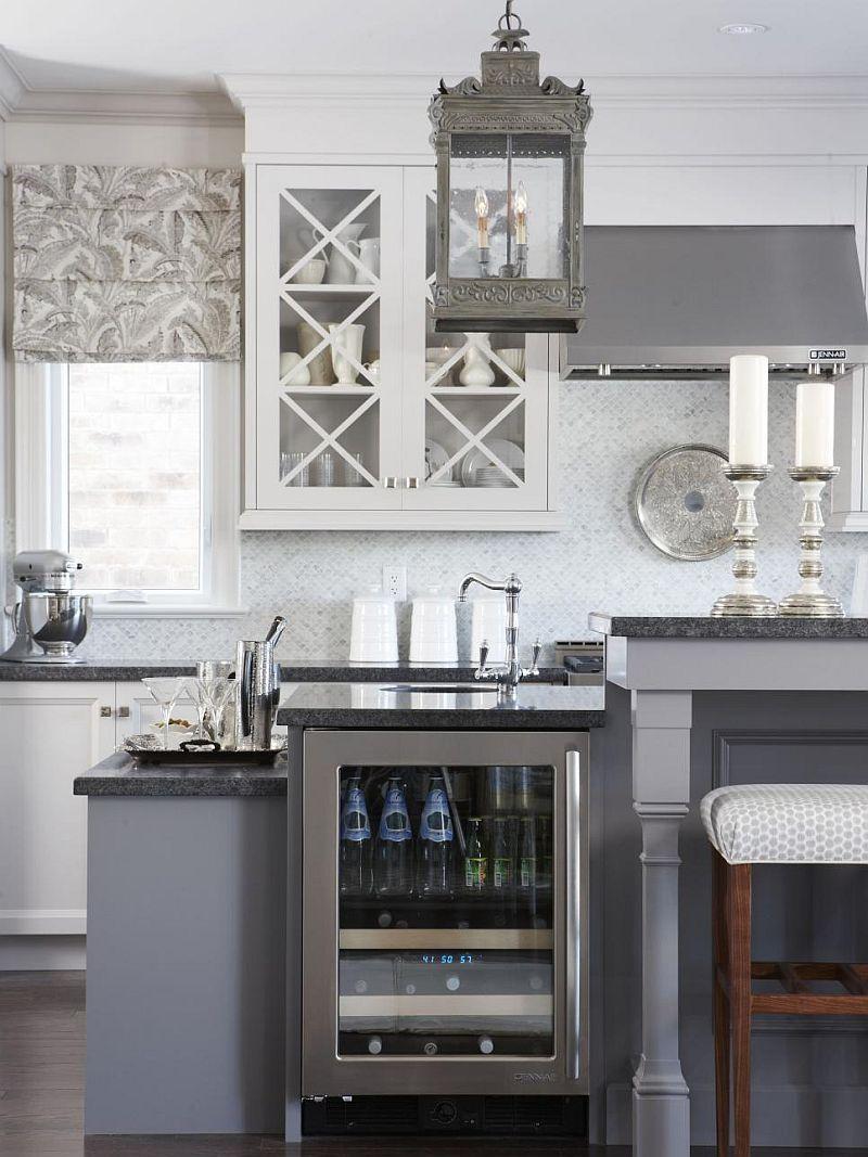 Яркие цвета в интерьере кухни - Фото 16