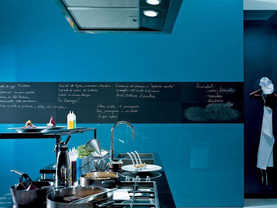 Яркие цвета в интерьере кухни - Фото 17