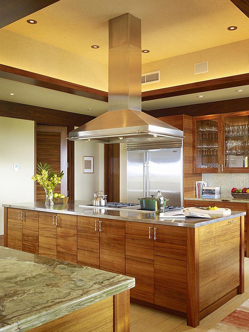 Яркие цвета в интерьере кухни - Фото 24